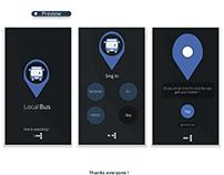 Local Bus App -