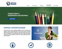 Website Universo Educação