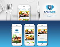 Share Eats | Mobile Social Culinary App (Concept)