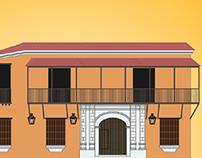 Balcón de los Arcayas - Ilustracion