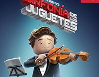 Afiche Sinfonía de los Juguetes 2014