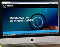TANGO Investigaciones privadas (Diseño Web)