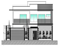 Sobrado Residencial - Instalações - Área: 285 m²