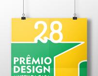 Cartaz para 28º Prêmio Design Museu Casa Brasileira