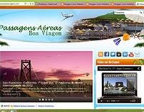 Site Passagens Aéreas