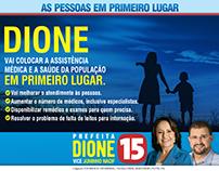 Campanha 2016 - Candidata Dione Peres - Coromandel-MG