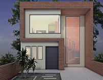Rustic house design - Marquez House