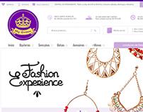 E-commerce My Queen Bijoux | SMB Ciashop