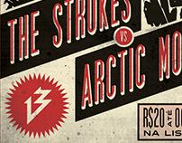 """""""The Strokes Vs. Arctic Monkeys"""" @13 Bar Florianópolis"""