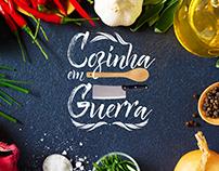 Criação do logo para o programa Cozinha em Guerra