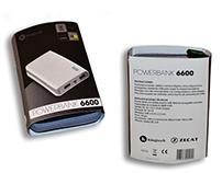 PACKAGING -Powerbank 6600