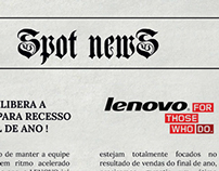Endomarketing Lenovo.