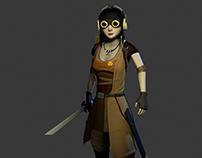 Video Game Character/ Personaje de Videojuegos