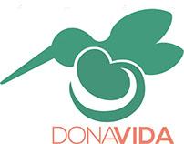 "Logotipo con símbolo ""Dona Vida"