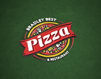 Bradley Pizza - Website / Logo / Sign