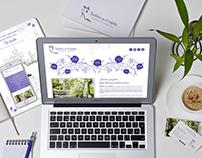Logotipo, tarjetas de visita, calendario y diseño web