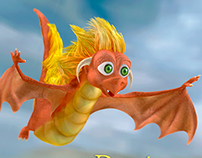 Modelado en zbrush - Baby Dragon