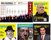 Diseño de Revista de política y actualidad