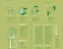 campaña de concientización / triple lavado de envases