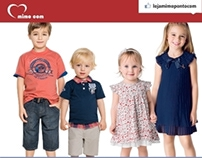 Email Marketing para Loja de moda Infantil