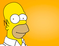 Homer Simpson - Motion Graphics