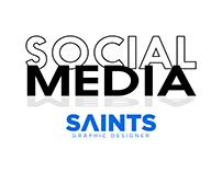 Social Media I Saints Designer