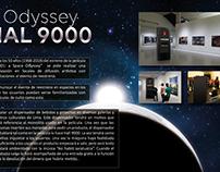 """Activación por los 50 años de """"2001: a space Odyssey"""""""