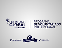 Ciudadano Global / Showcasing serie.