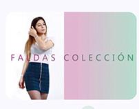 Muestra de prendas tipo catálogo  -  ERC Colección