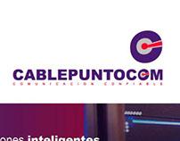Cablepuntocom Corporate web site design