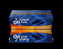 Criação Da Embalagem Autech Parts