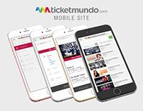 Ticketmundo Mobile Site