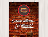 Posters CSS BURGUER´S