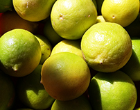 Natureza frutas lim'oes