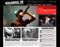 Diseño y desarrollo web rocanrol.pe