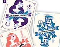 Cards Deck Illustration