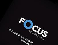 Folder Institucional Focus Audiovisual