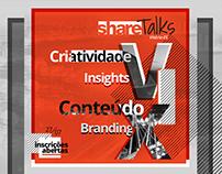 Share Talks - Banner animado + e-mail marketing