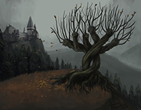 Environment - fanart of Harry Potter