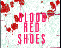 Blood red shoes poster