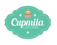 Logo Cupmila cupcakes