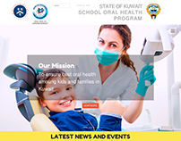 STATE OF KUWAIT SCHOOL ORAL HEALTH - Responsive Website