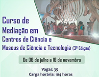 Curso de Mediação em Centros de Ciência e Museus de Ciê