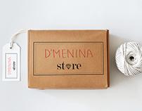 Loja online D'menina store - Logo