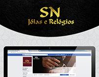Gestão de Rede Social - SN Jóias e Relógios