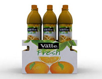 DEL VALLE FRESH / Bottle display