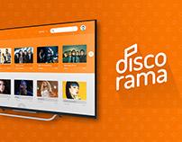 Discorama - Aplicativo para TV