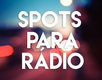 Spots para Rádio