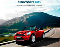 Mini Cooper App