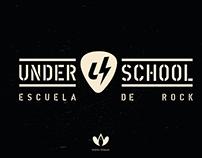 Branding de UNDERSCHOOL - Escuela de Rock
